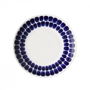 뚜오끼오 접시 20cm 파란색