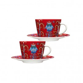 |커피/ 카푸치노 컵&받침