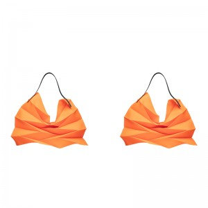 가방 55x47cm 네온 오렌지 1+1