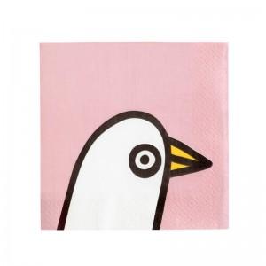 페이퍼 냅킨  버디 핑크